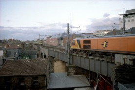 View from Dublin Hostel (1999)