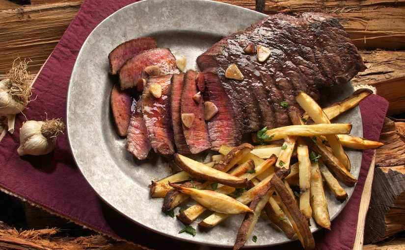 Faith Middleton's Monday Night Flank Steak